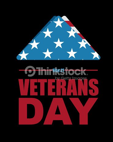 Veterans Day Usa Flag Symbol Of Mourning And Grief For Fallen