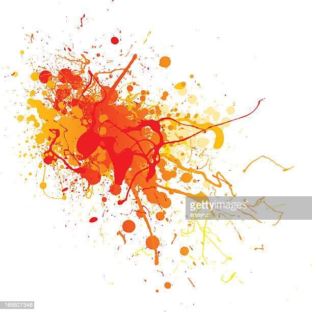 Vibrant splash design