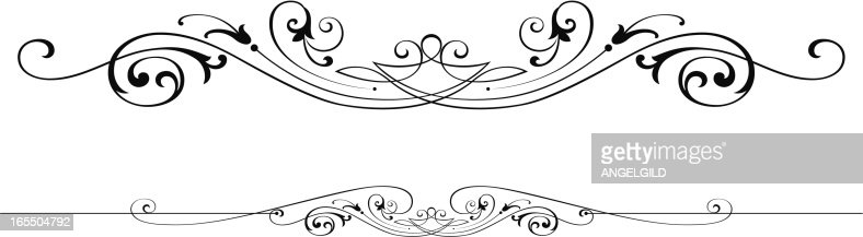 Victorian Design victorian scroll design vector art | getty images