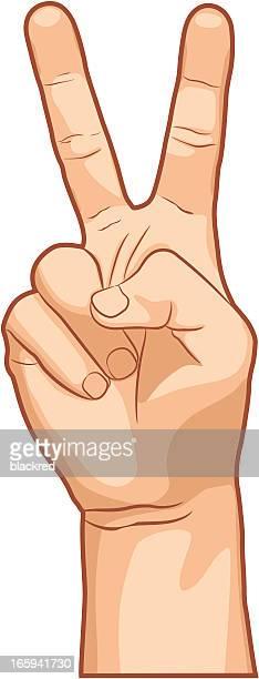 Victoire Geste de la main