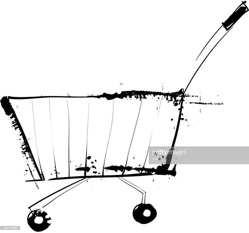 View of cart : Vector Art