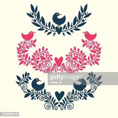 vignettes and decorative elements : Vector Art