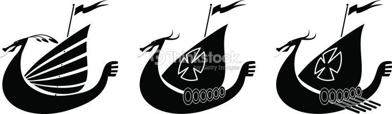 Viking Ship Vector Art | Thinkstock
