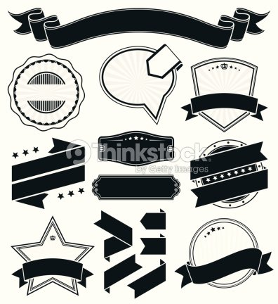 Vintage Badge And Label Set Vector Art