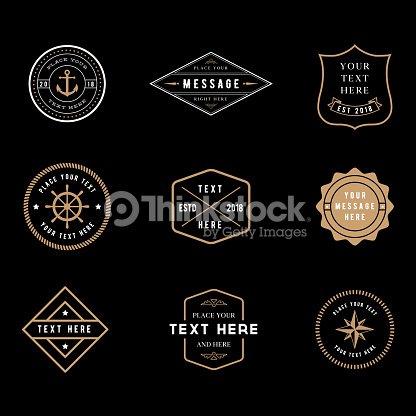 S Badge Vintage : clipart vectoriel