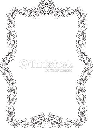 Vintage Baroque Art Nice Frame Vector Art | Thinkstock