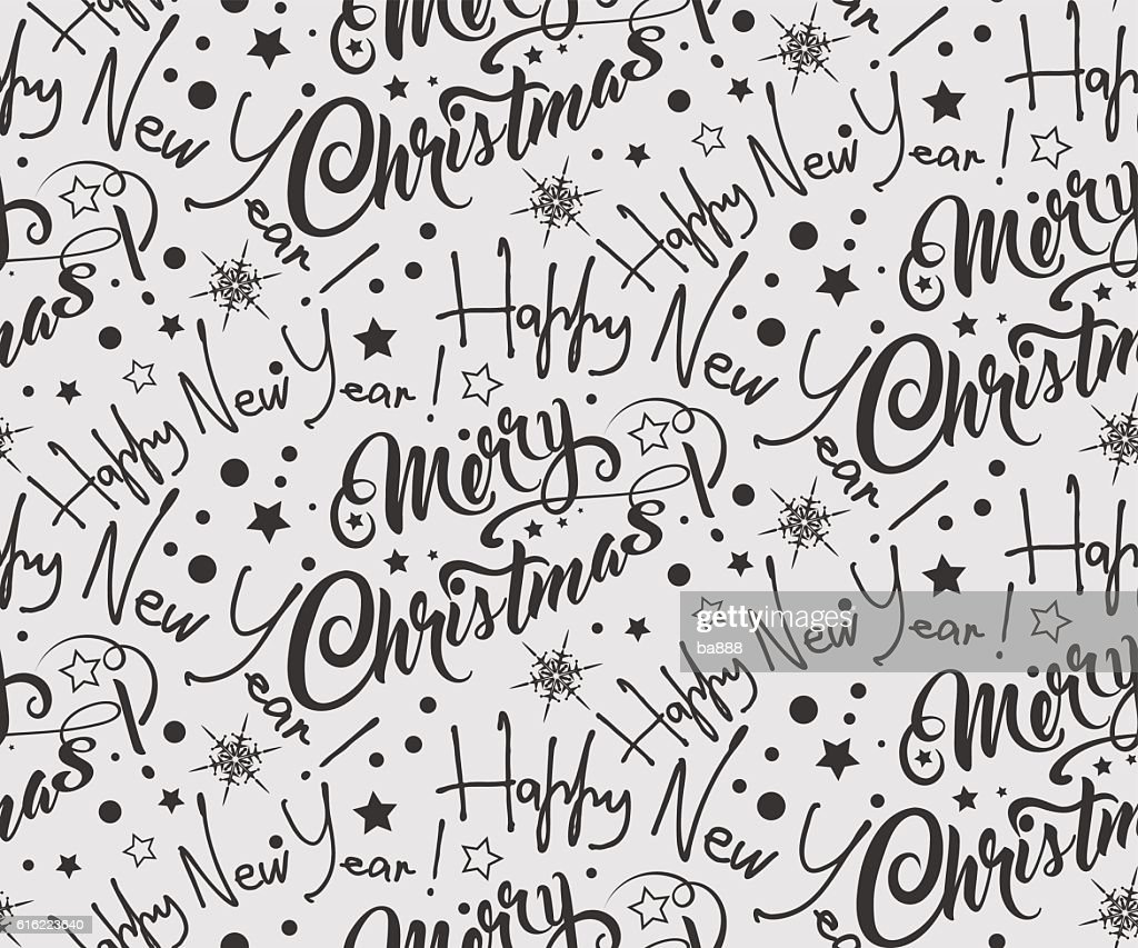 Vintage Christmas Wallpaper Art : Vector Art
