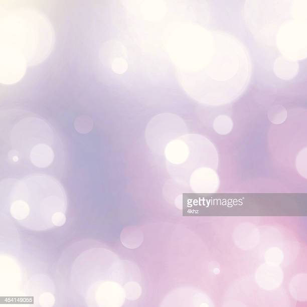 Vintage Dreamy Fairy Lights Retro Bokeh Blurry Vector Background