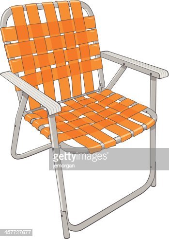 Outdoor Chair Stock Il...