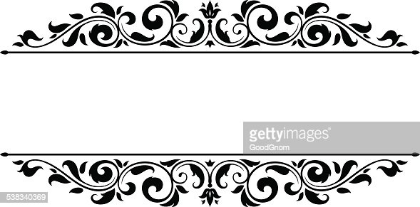 Vintage Vector Frame Vector Art | Getty Images