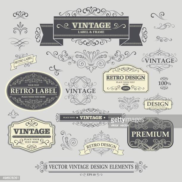 Cadre Vintage.  Illustration vectorielle