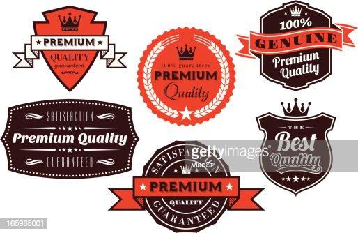 Vintage Labels and Badges : Vector Art