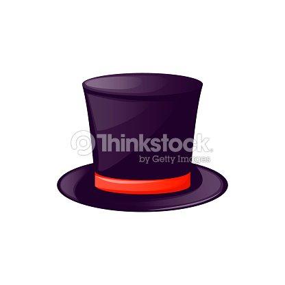 Sombrero Superior De La Vendimia Del Hombre Etiqueta Traje Negro