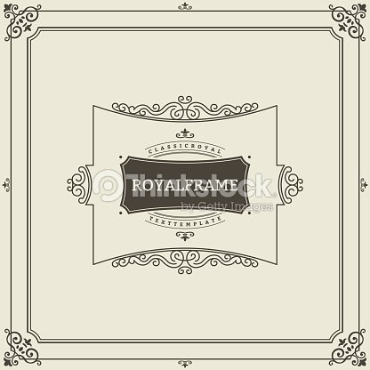 Vintage ornament greeting card vector template retro luxury vintage ornament greeting card vector template retro luxury invitation royal certificate flourishes frame stopboris Image collections