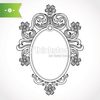 Vintage Ornate Frame Vector Art | Thinkstock