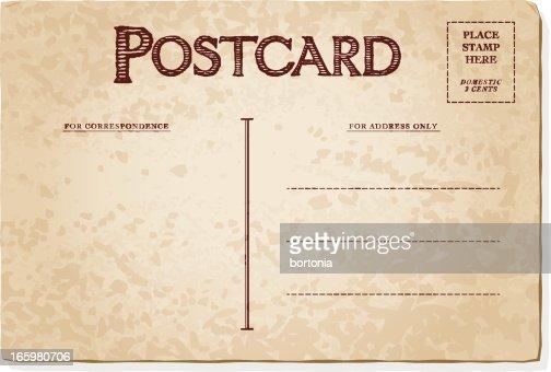 vintage postcards templates