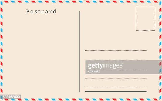 Vintage postcard. Vector design. : clipart vectoriel