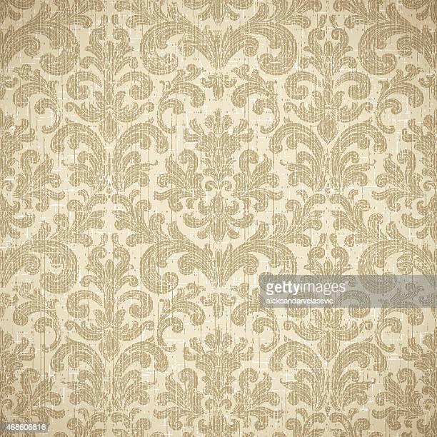 Vintage nahtlose Tapete Hintergrund