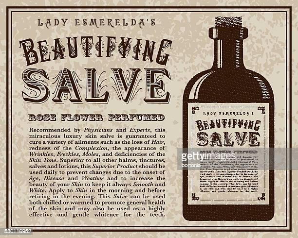 Vintage Victorian Style Salve Advertisement