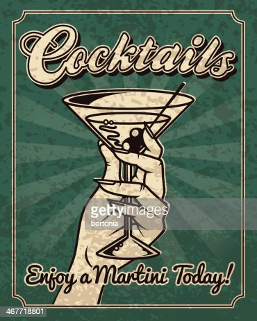 Old Fashioned Dirty Martini