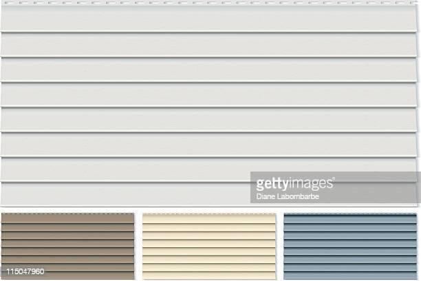 Vinyl Siding Schindel Probieren Sie sich in vier verschiedenen Farben