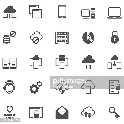 virtual private network icon vector art getty images. Black Bedroom Furniture Sets. Home Design Ideas