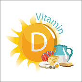 Vitamin D. Natural organic products with the maximum content of vitamin D