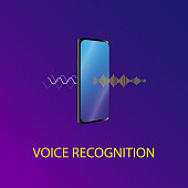 The sound wave is passing through the mobile phone and converted to speech
