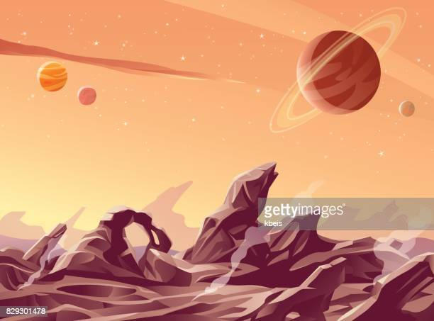 Vulkanische Planet