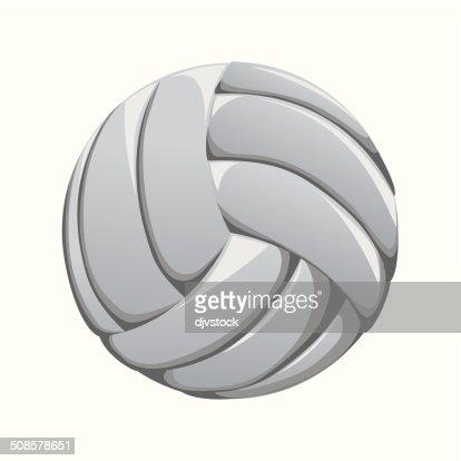 volleyball design : Vector Art