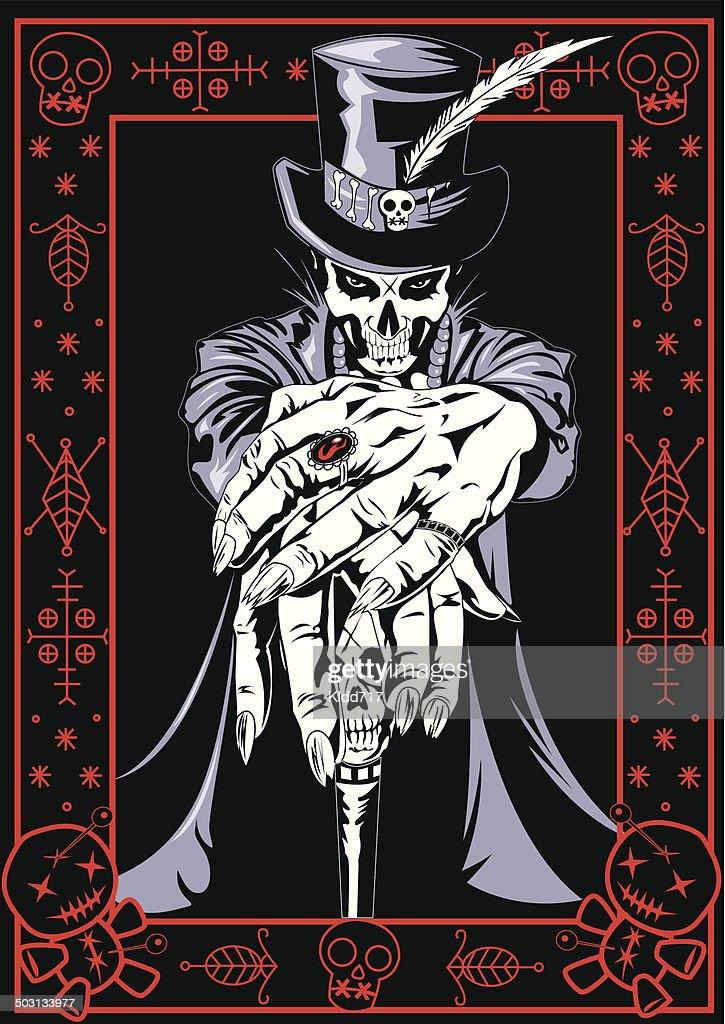 voodoo priest vector art getty images