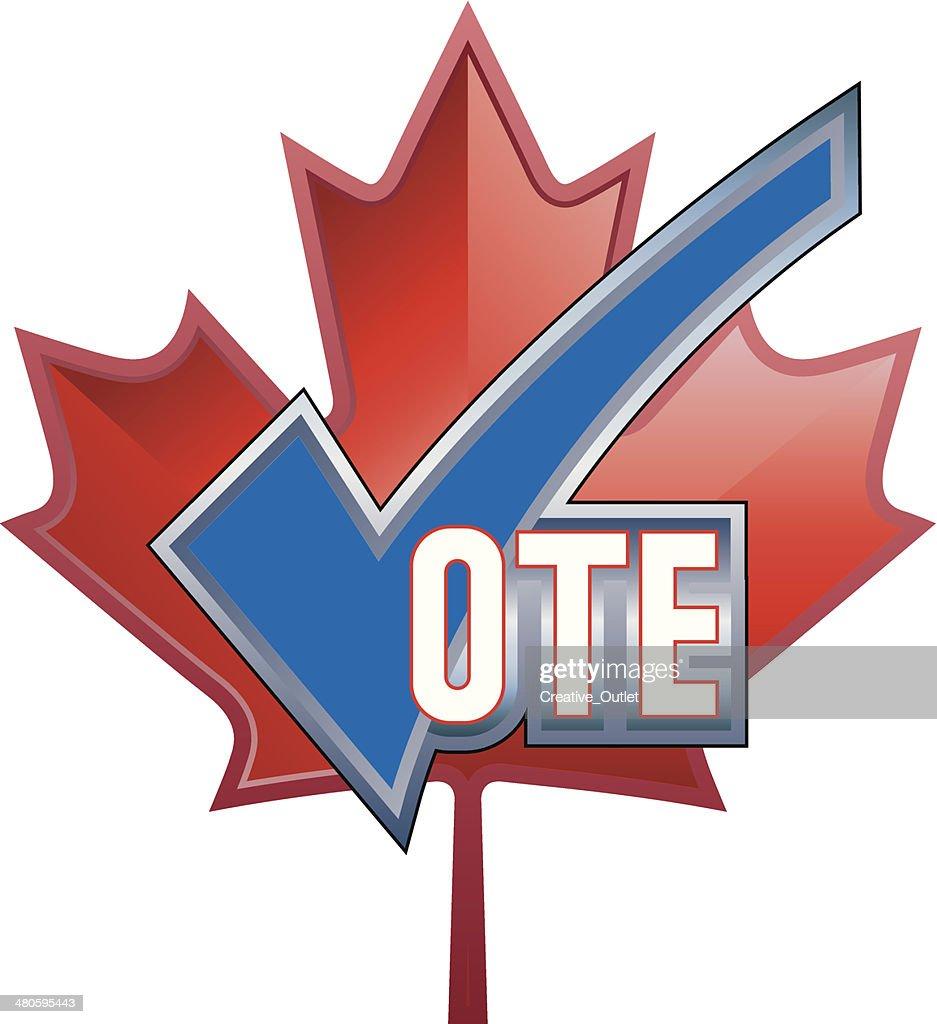Vote Heading C : Vector Art