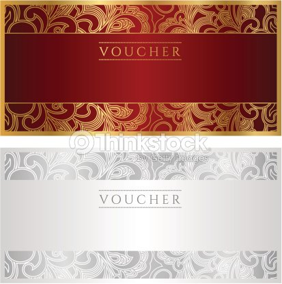 voucher coupon gift template vector art thinkstock