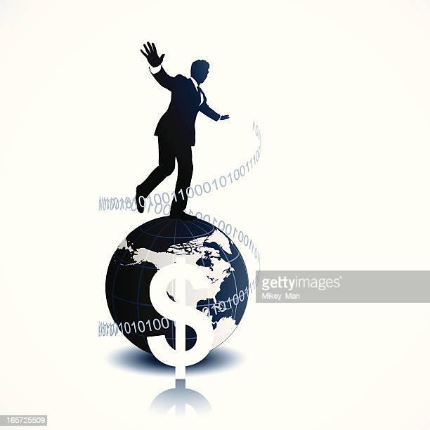 Walking On the Financial Globe