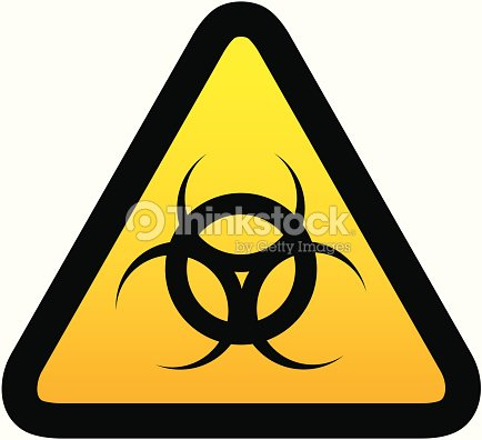 Warning Biohazard Symbol Vector Art Thinkstock