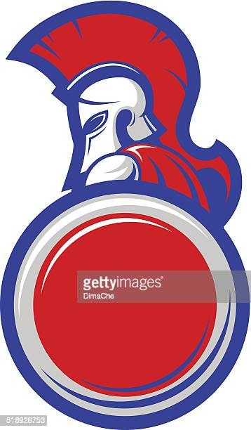 warrior of Sparta mascot