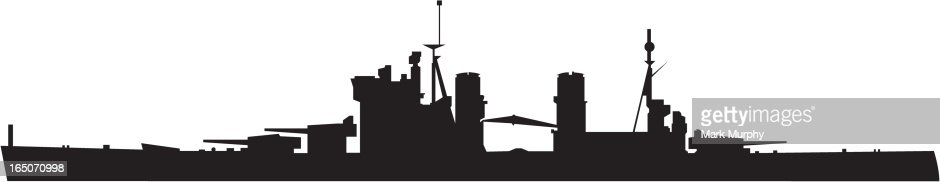Warship Silhouette Vector Art | Getty Images