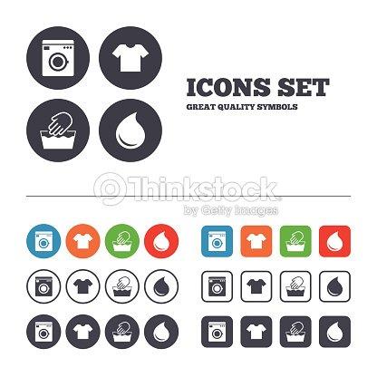 Wash Icon Not Machine Washable Symbol Vector Art Thinkstock