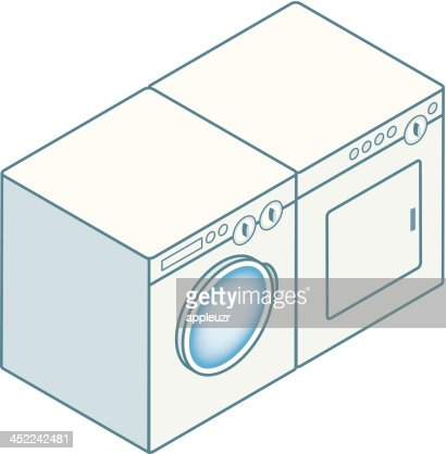 Washer And Dryer Clipart modren washer and dryer clipart clip art images illustrations