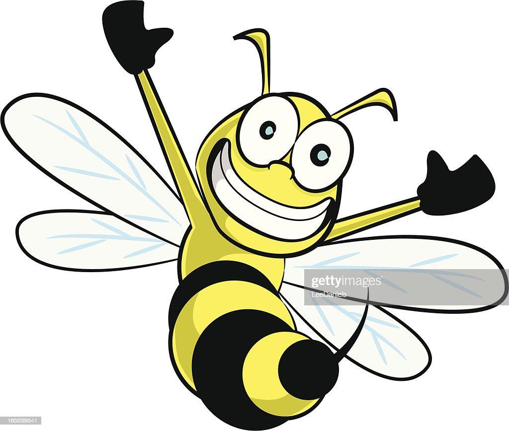 wasp cartoon vector art getty images