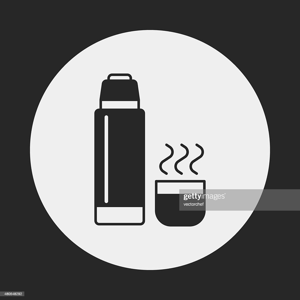 water bottle icon : Vector Art