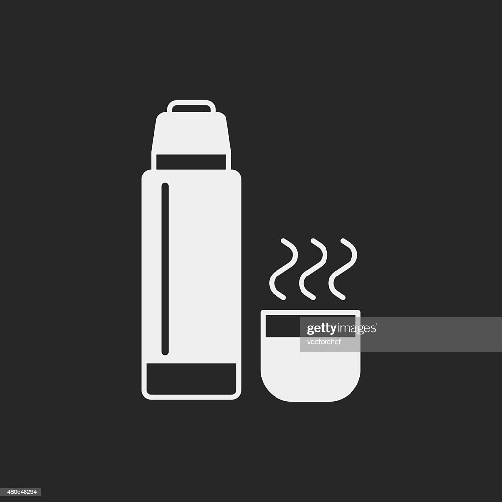 Garrafa de água ícone : Arte vetorial