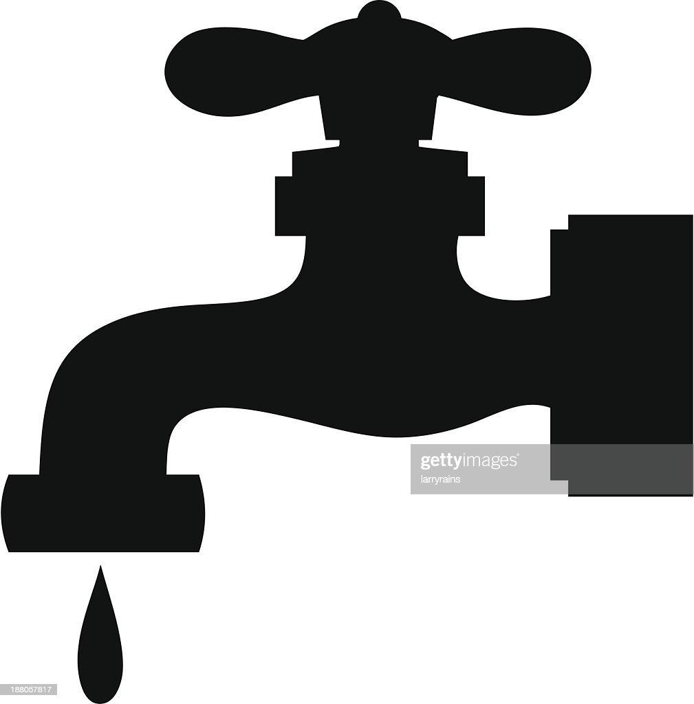 Water Faucet Leak Vector Art | Getty Images
