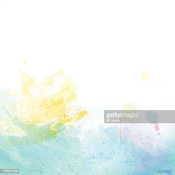Watercolor Abctract Background