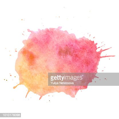 Watercolor paint blob vector text box. Isolated watercolor paint blob for web, sale, banner, text box. Paint blob vector text box for your design, advertise. Vector text box on watercolor paint blob : stock vector