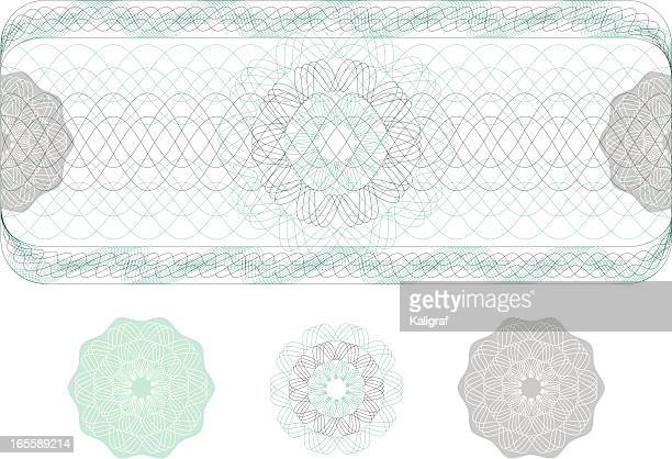 Watermark from Ticket, Diploma or Certificate