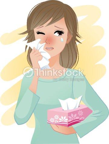 paisible femme aux yeux organiser bo te de mouchoirs en papier clipart vectoriel thinkstock. Black Bedroom Furniture Sets. Home Design Ideas