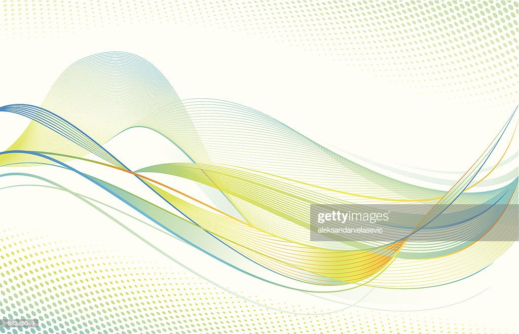 Wave Background : Vector Art
