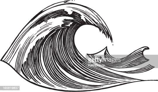 Wave - Ocean, Sea : Vector Art