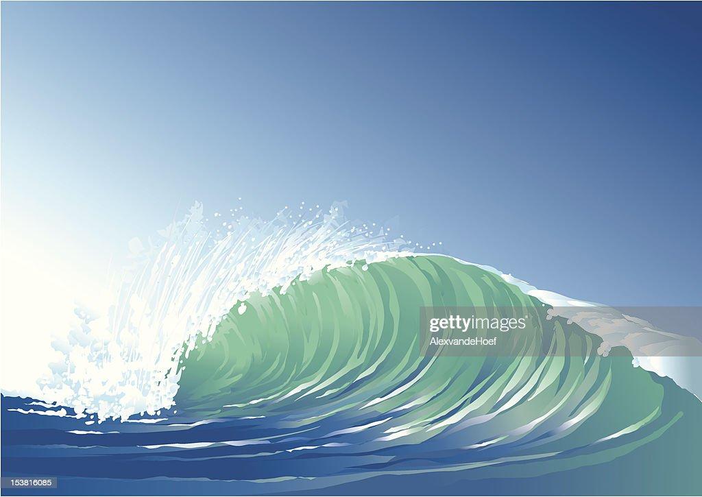 Wave : Vector Art
